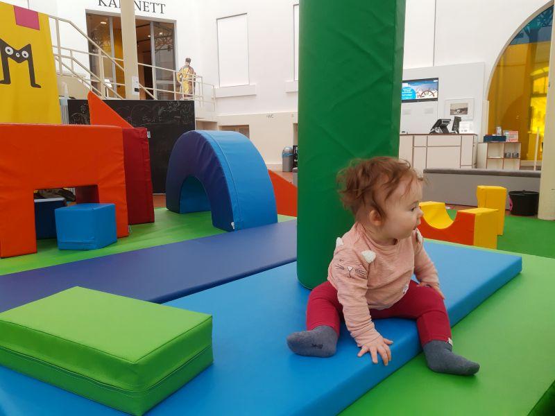 Krabbelspielplatz im Kindermuseum Braunschweig
