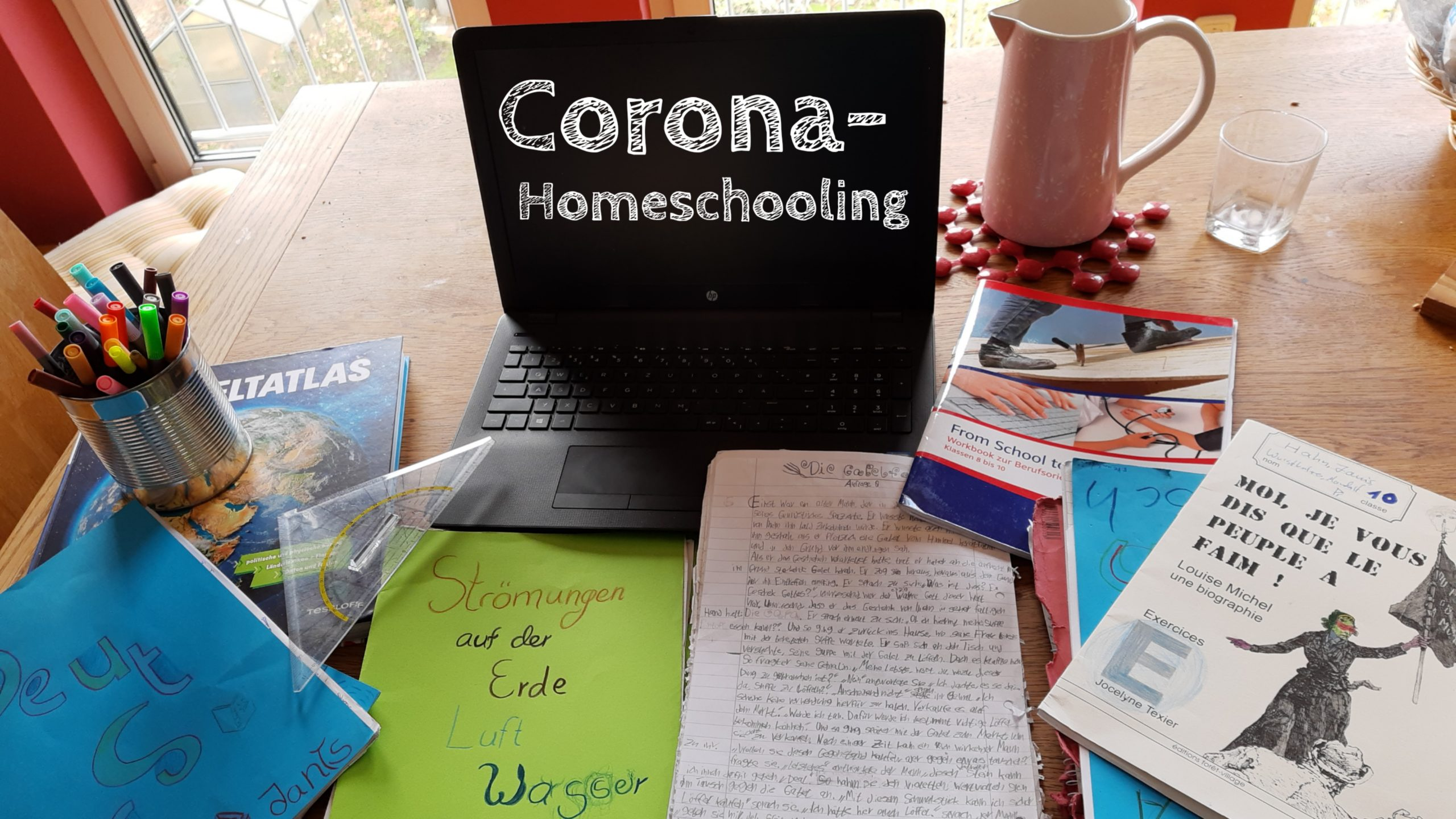 Hilfe in der Coronakrise: Unsere Tipps und Erfahrungen mit Homeschooling