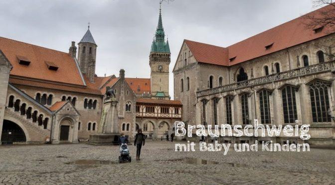 Braunschweig mit Baby und großen Kindern: Ein Tag in der Stadt im Winter