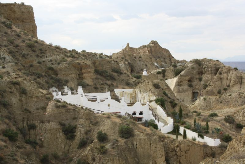 Wohnhöhle in Guadix, Andalusien