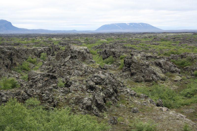 lavafeld dimmuborgir