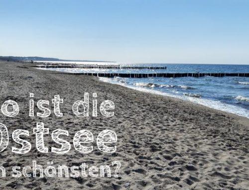 Deutsche Ostsee: Wo ist es wie voll/schön/kinderfreundlich?