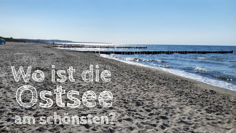 deutsche ostsee wo ist es am schönsten