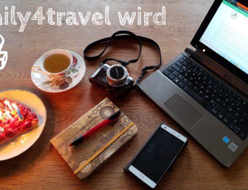 Blog-Geburtstag: family4travel wird 7!