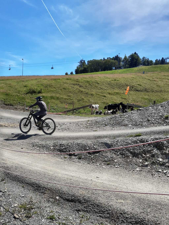 1. Mal auf dem Mountainbike