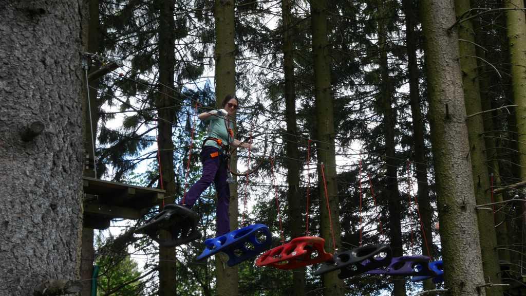 erlebnisberg kappe sauerland kletterpark