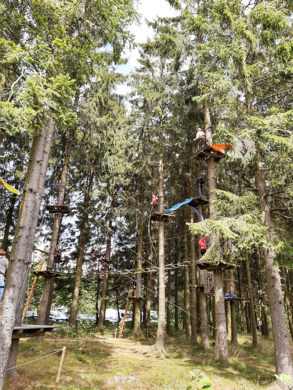 erlebnisberg kappe sauerland kletterwald mit boden