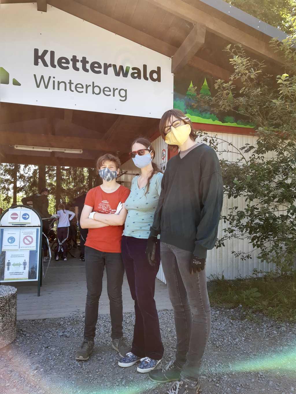 Kletterwald Corona 2020