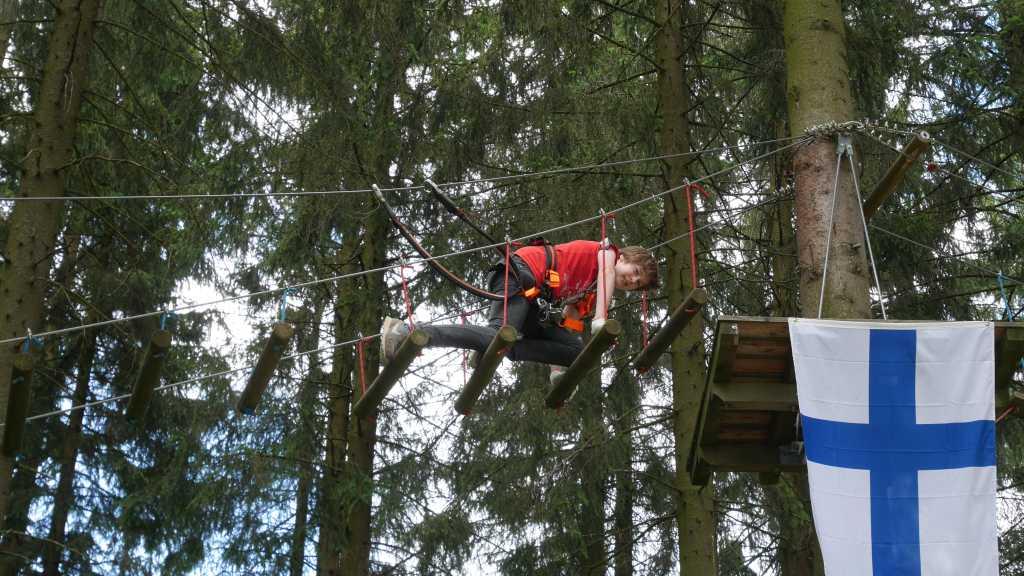 erlebnisberg kappe sauerland kletterwald silas