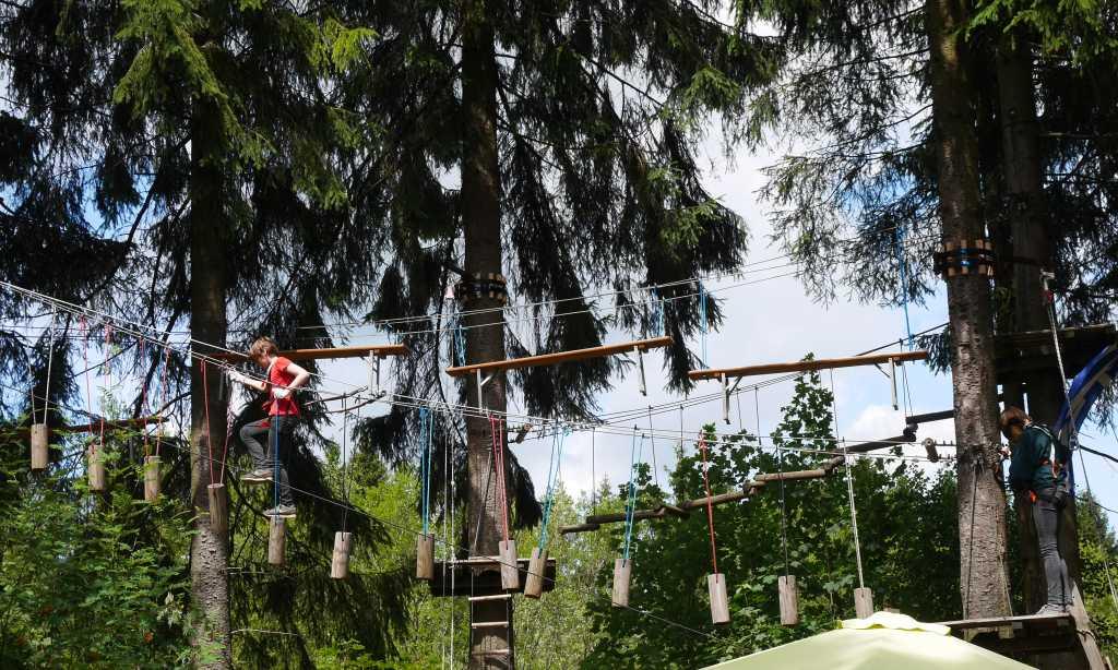 erlebnisberg kappe sauerland kletterwald trail
