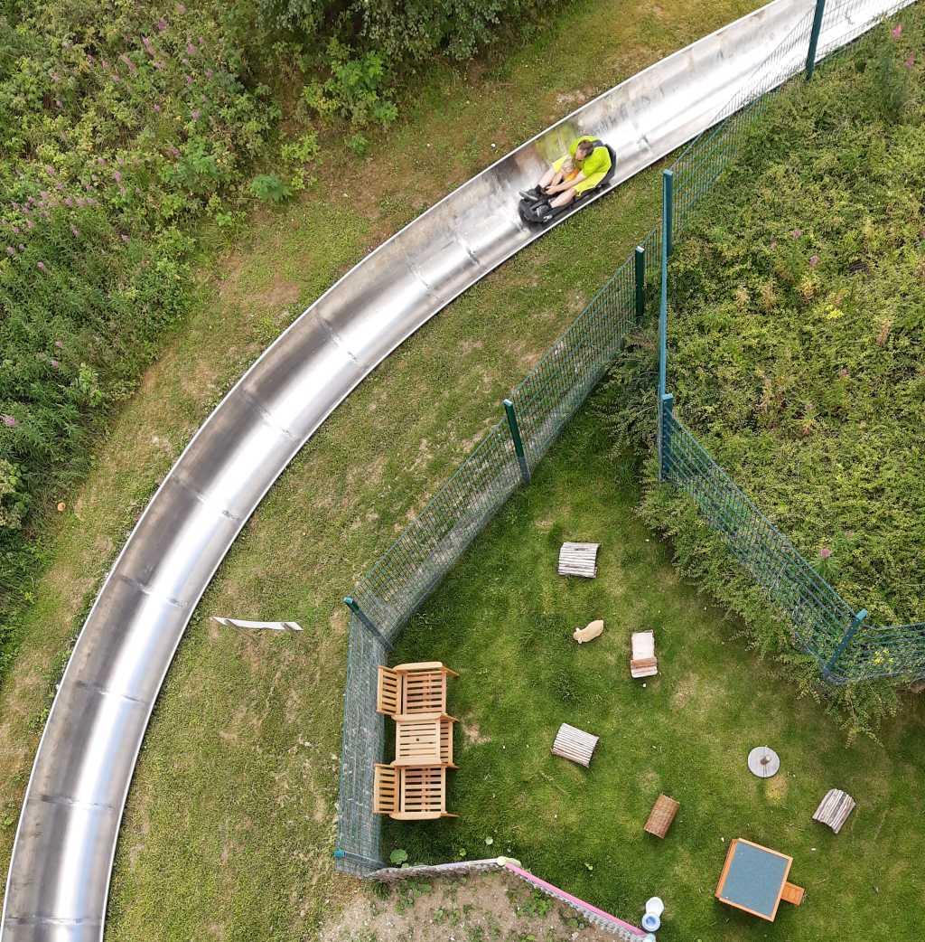 erlebnisberg kappe sauerland sommerrodelbahn von oben