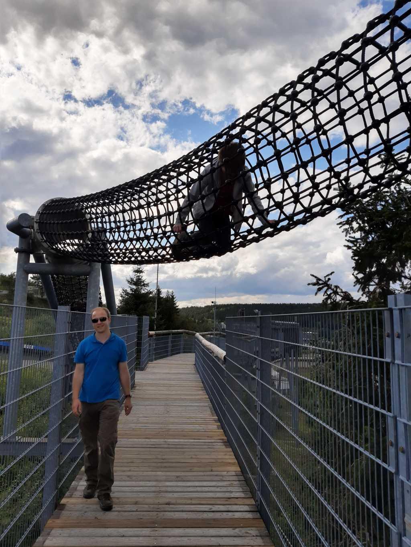 sauerland erlebnisberg kappe panoramabruecke mit kind