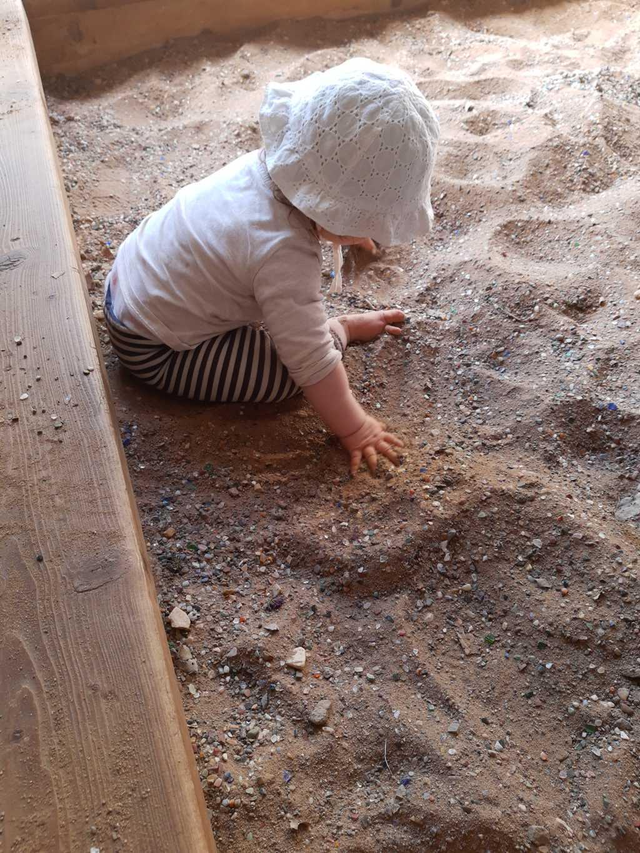 steinzeichen steinbergen sandkasten