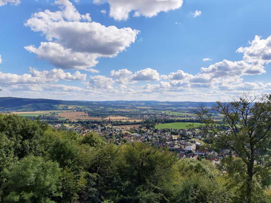 steinzeichen steinbergen weserbergland rinteln aussicht