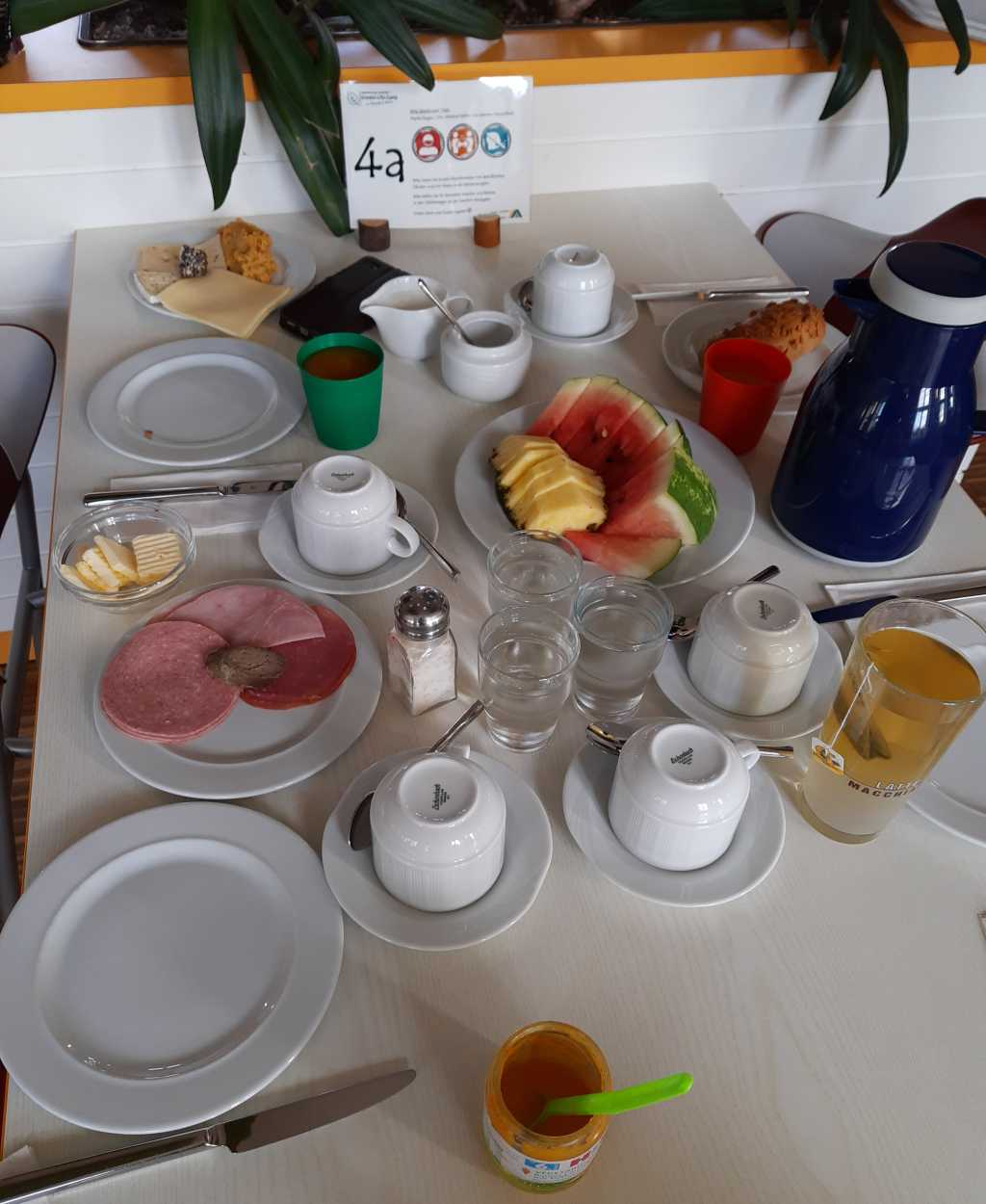 jugendherberge harsberg hainich corona frühstück