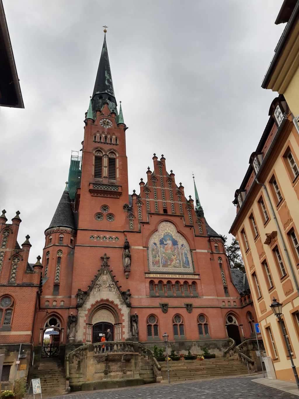 thueringen altenburg kirche