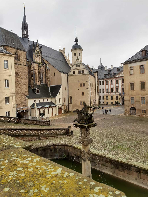 thueringen altenburg residenzschloss innenhof