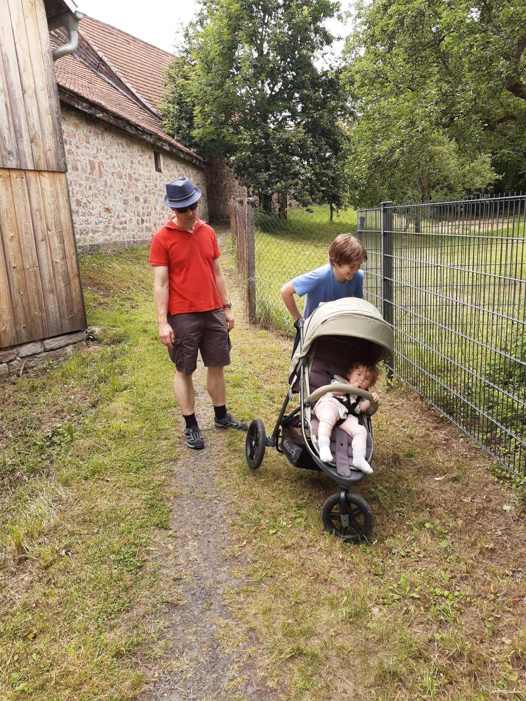 bischofsheim mit kinderwagen