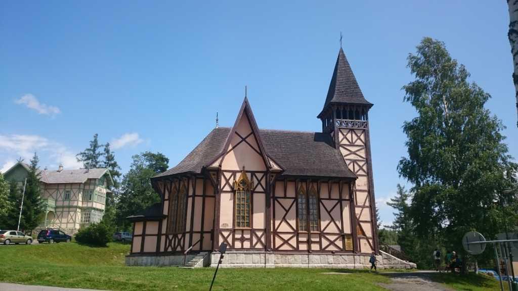 hohe tatra slowakei stary smokovec kirche