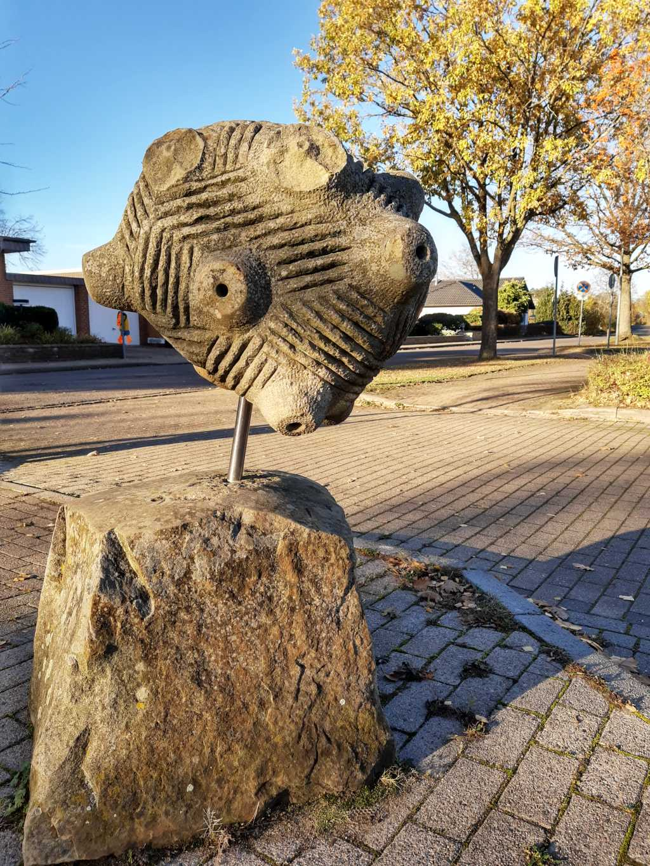 skulpturenweg obernkirchen sandstein