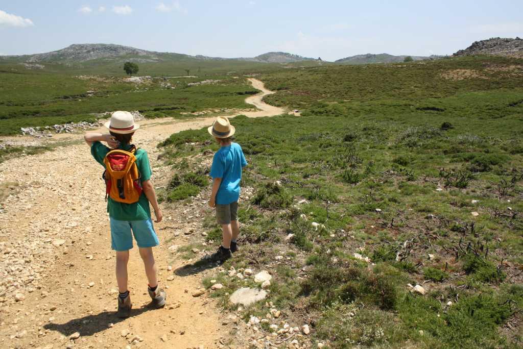 arouca wandern mit kindern weg