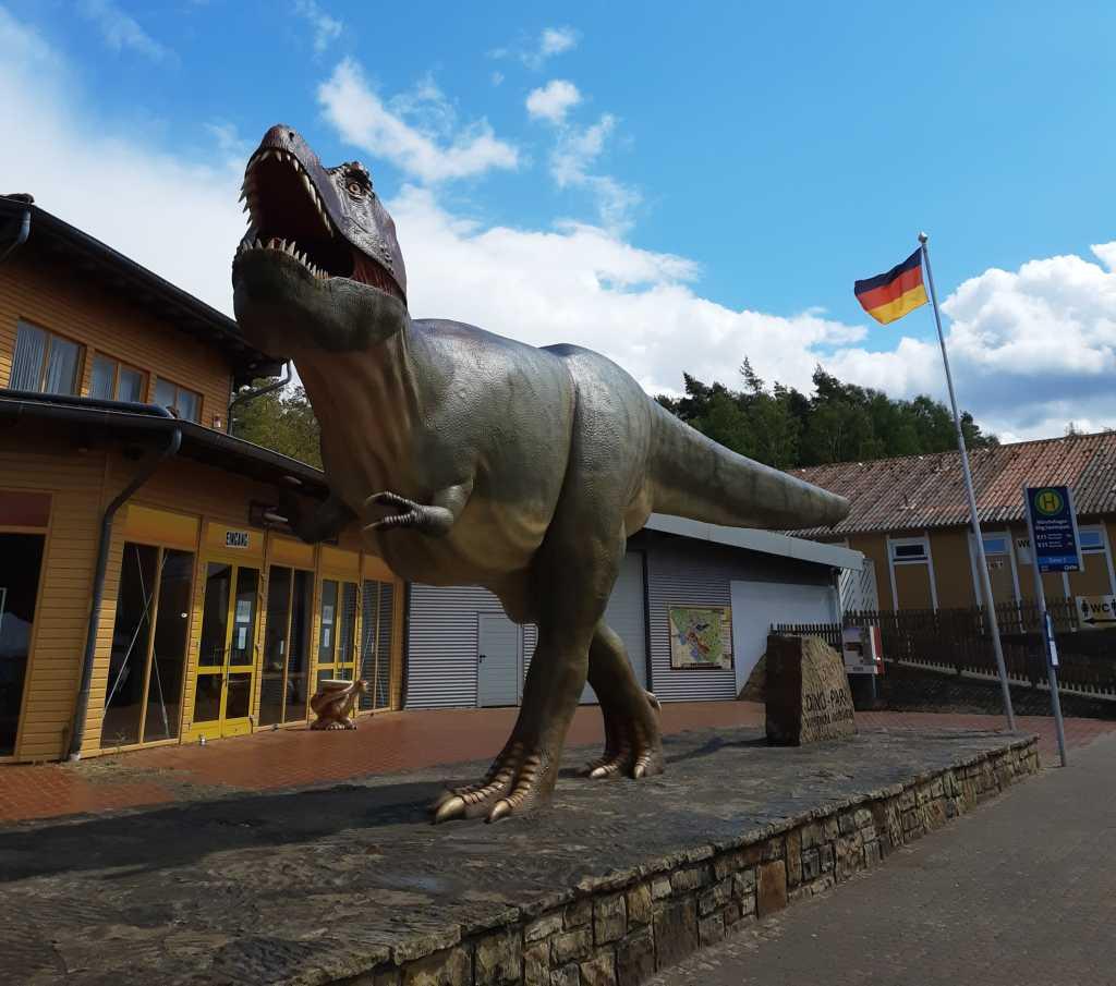 dinosaurierpark münchehagen eingang