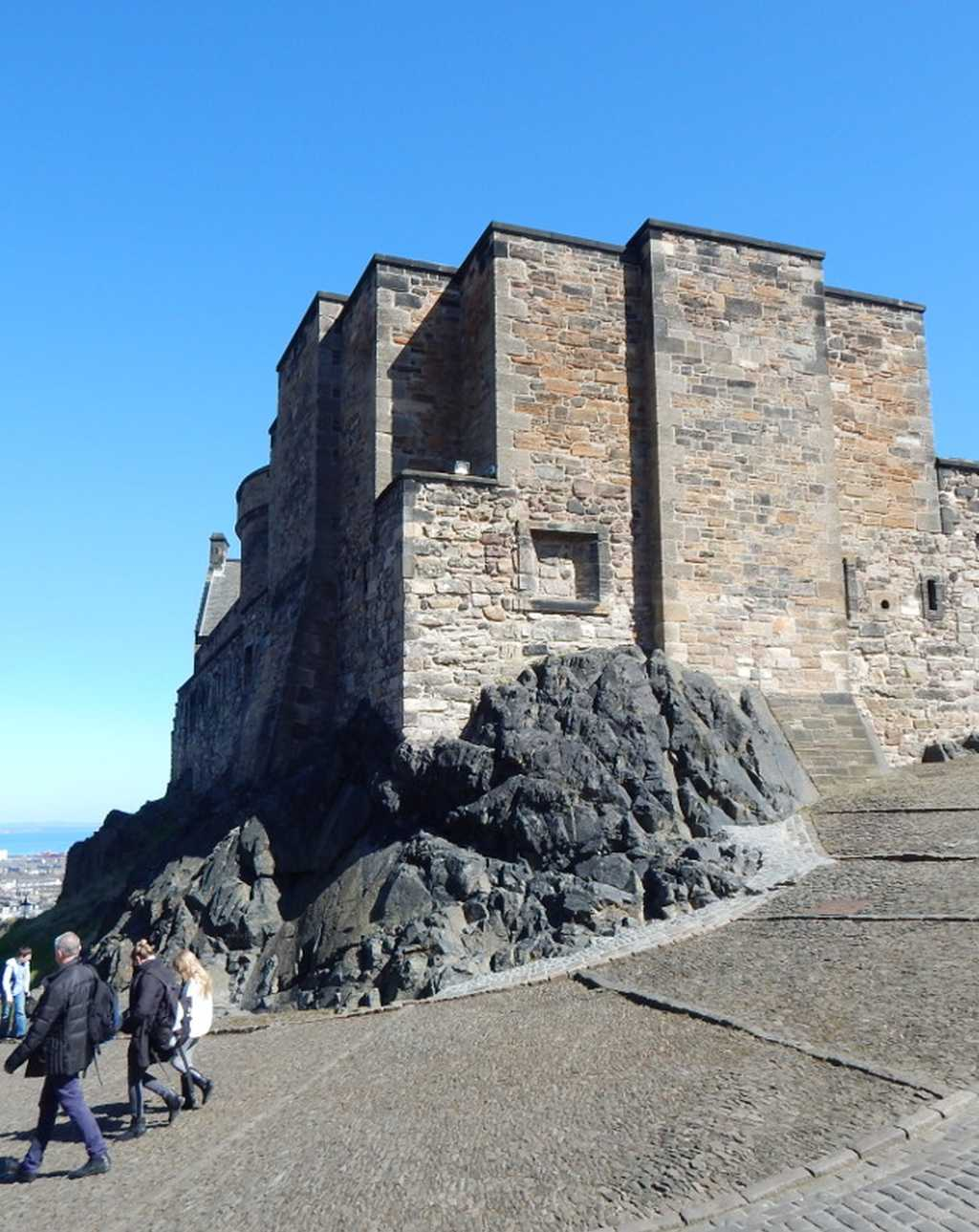 Edinburgh Castle burgen in schottland