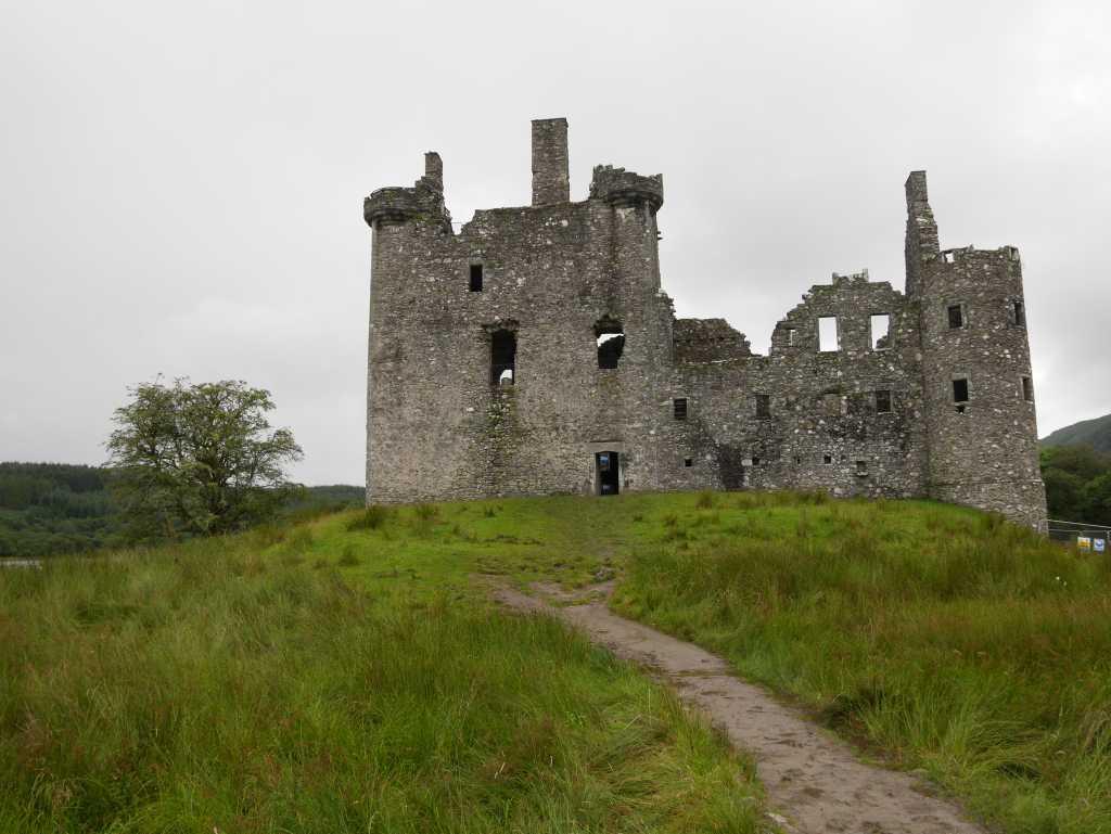 burgen in schottland kilchurn castle