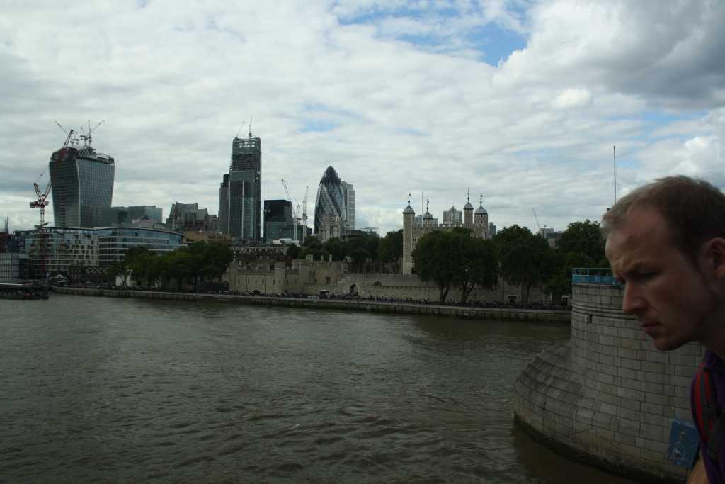 london aussicht von towerbridge 2013