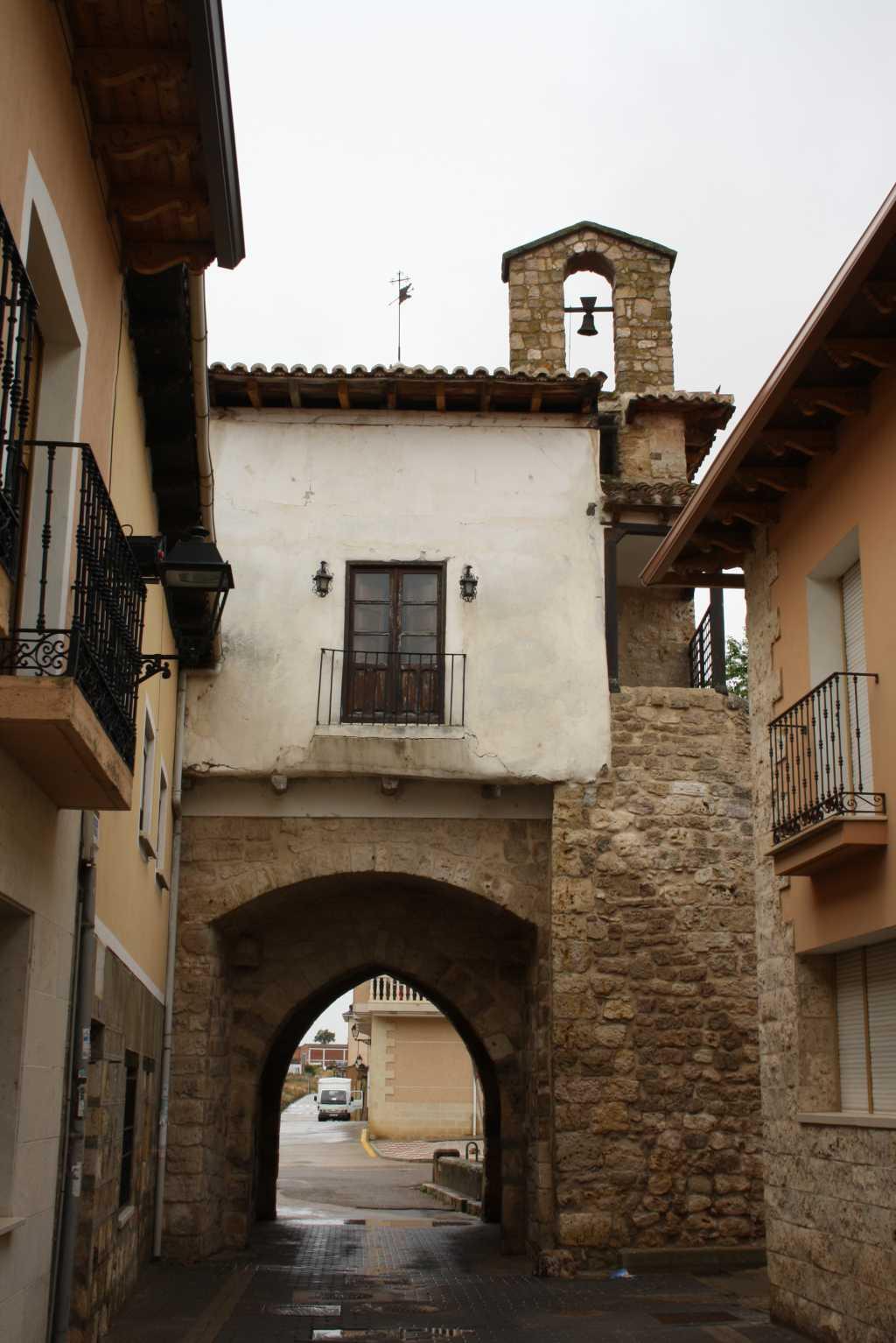 Duenas Spanien Kleinstadt