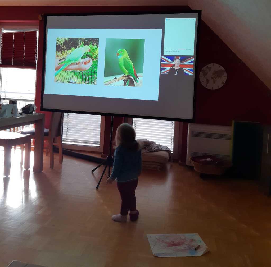 london virtuell mit kind