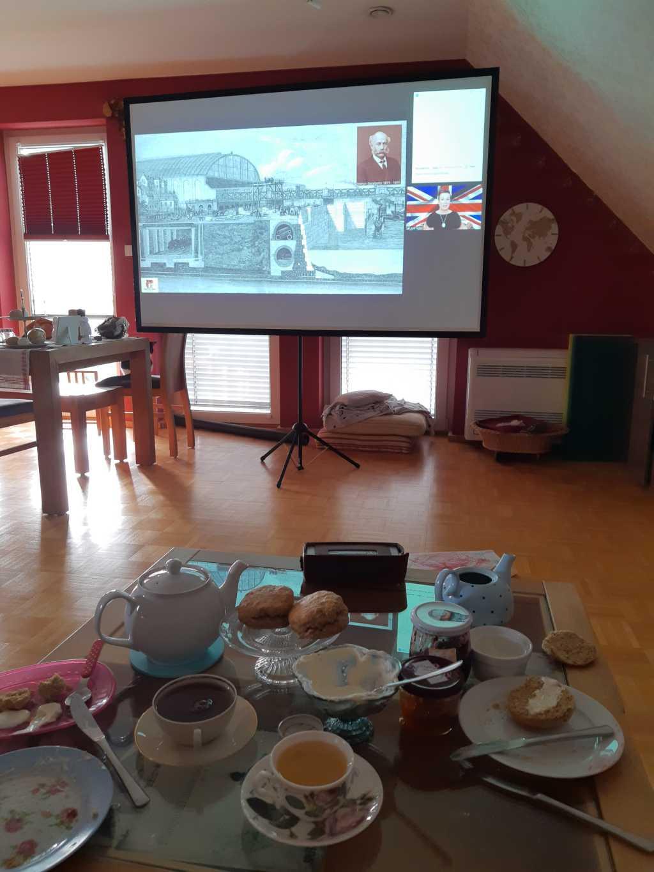 london virtuell tea time