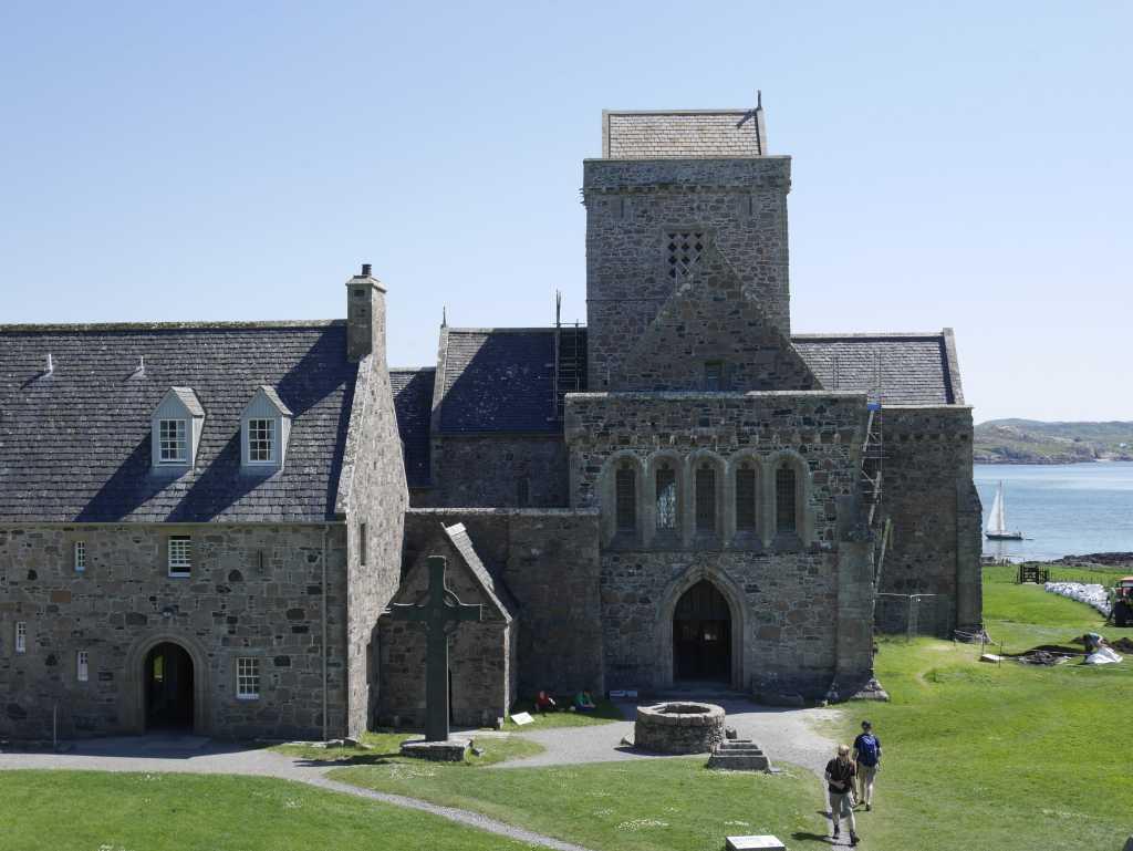 iona abbey kirche