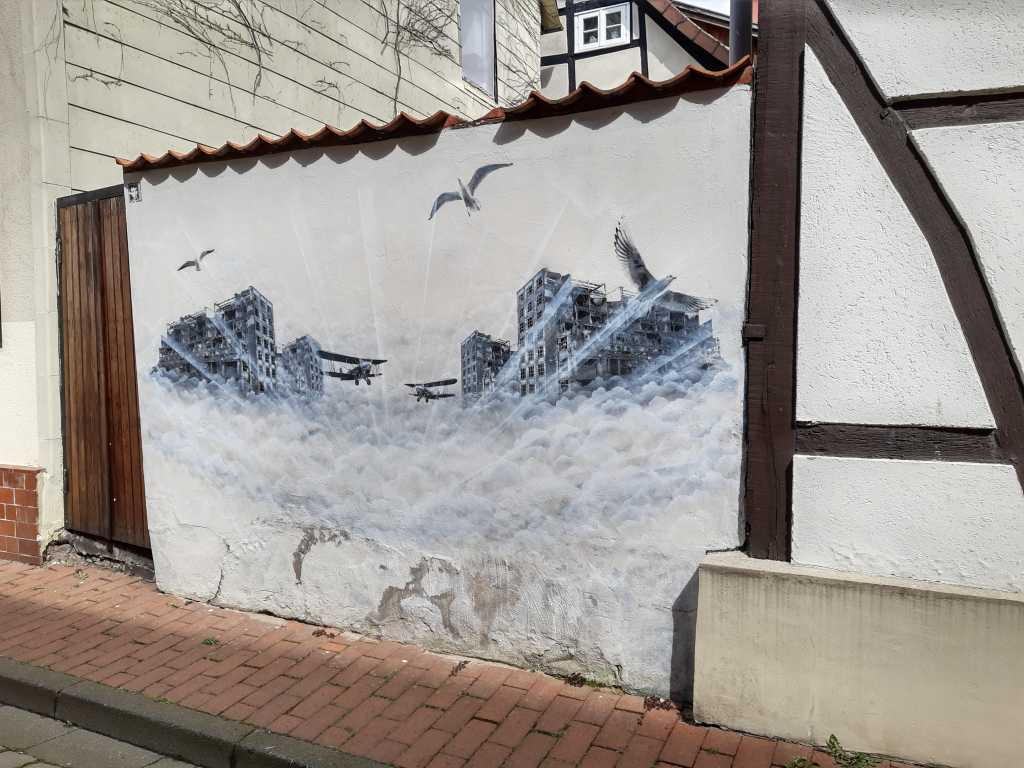 minden schnurrviertel streetart