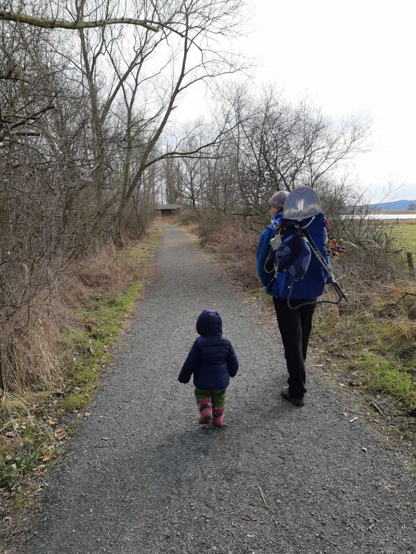 steinhuder meer meerbruch wandern mit kleinkind