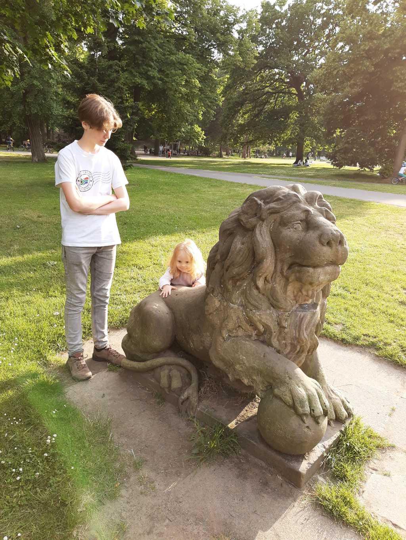 braunschweig inselwall park löwe
