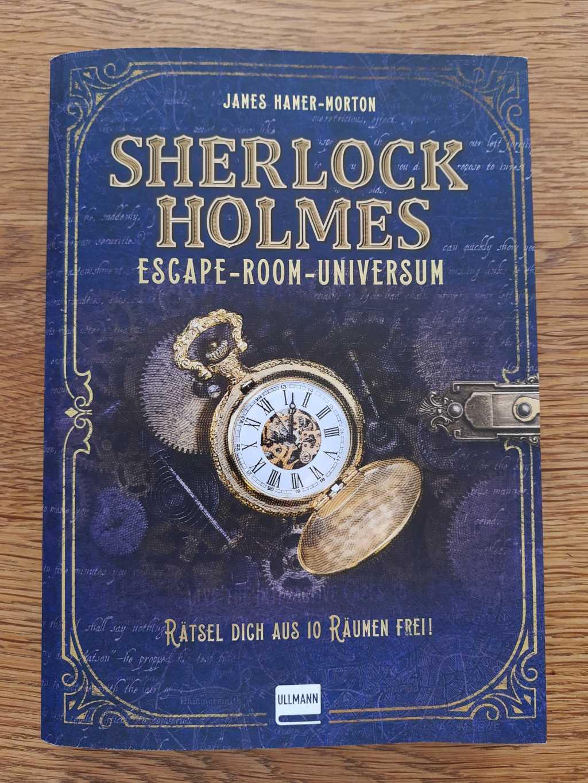 rezension sherlock holmes escape room universum cover