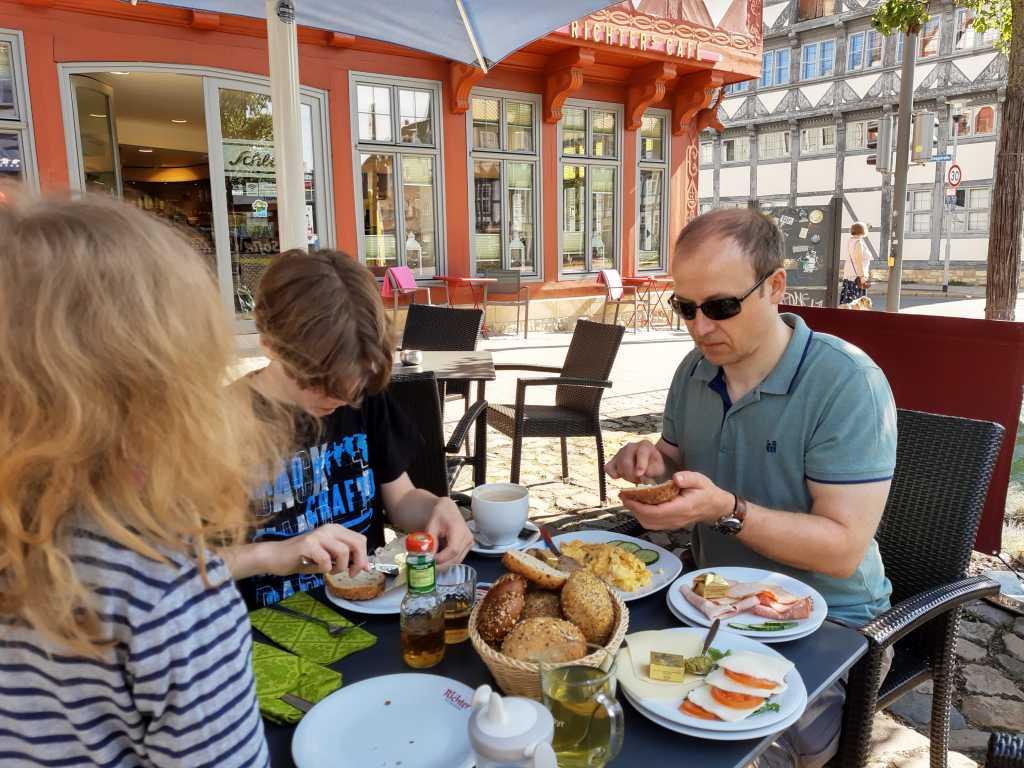 wolfenbüttel frühstück cafe richter
