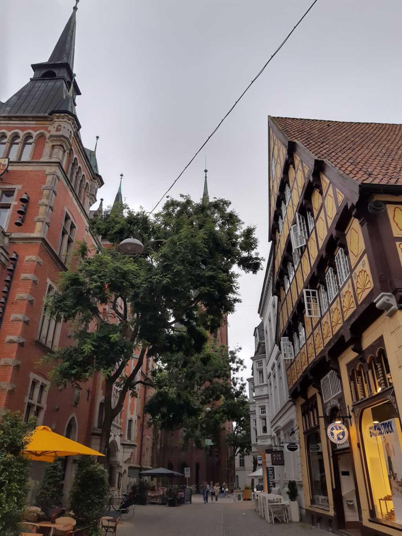 oldenburg innenstadt abends