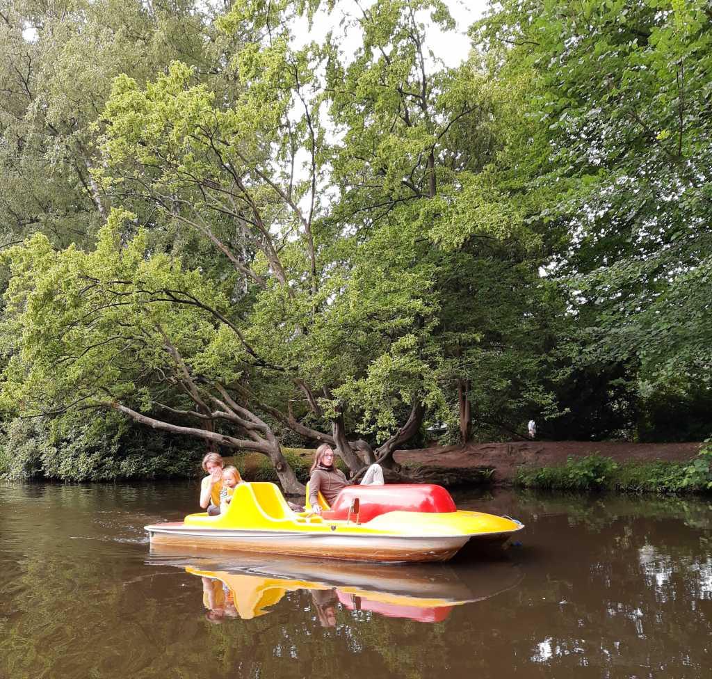 oldenburg tretboot 3 kinder