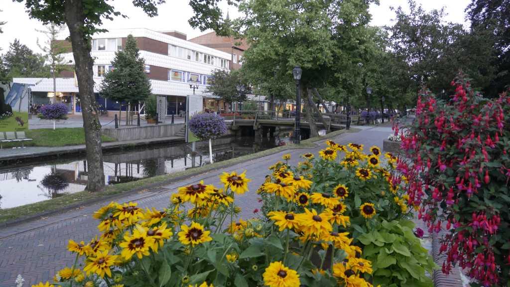 papenburg hauptkanal blumen