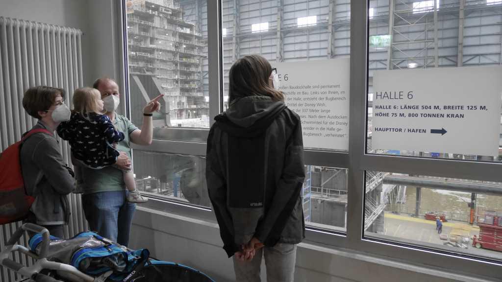 papenburg meyerwerft besucherzentrum halle