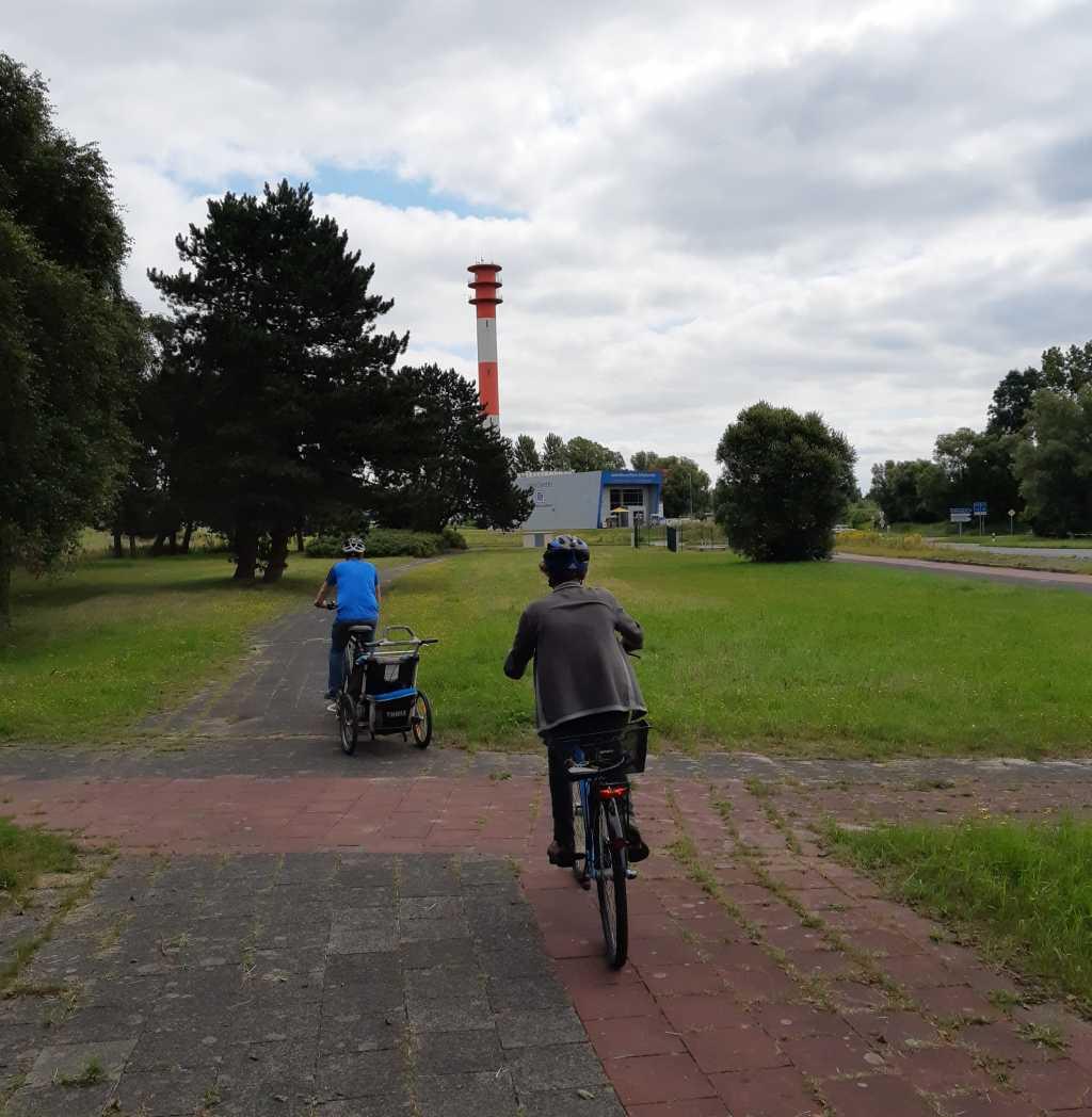 wilhelmshaven mit fahrrädern