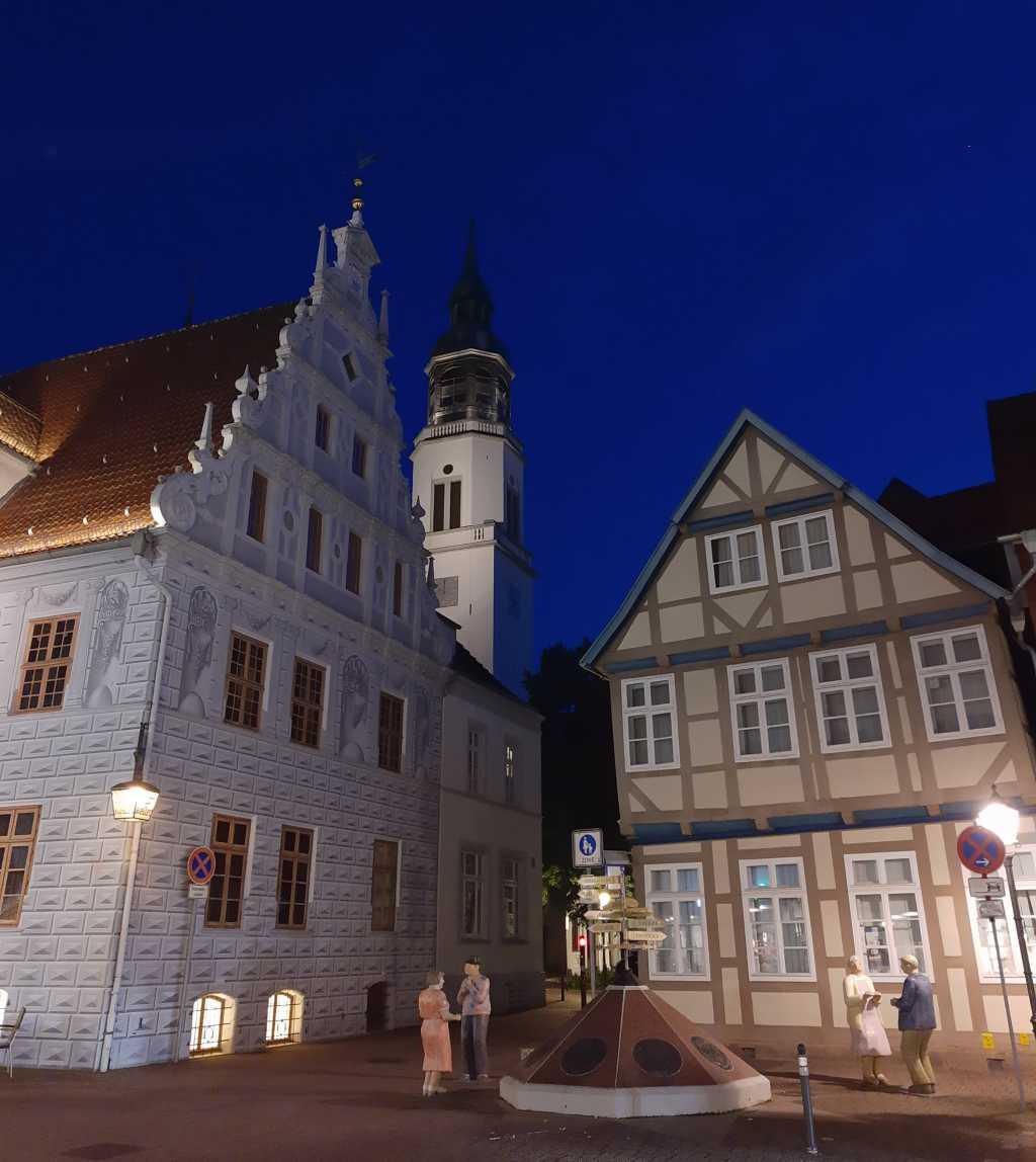 Abend in der Altstadt. Celle