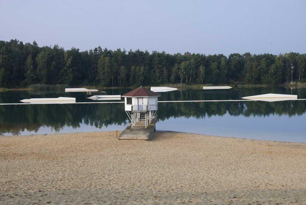 gilfhorn bernsteinsee strand und wasserski